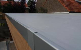 dakrandprofiel in aluminium