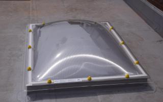 bolvormige acrylaatkoepel 3-wandig