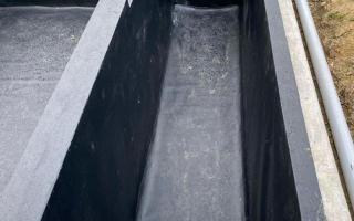 pvc liner voor zwemvijver